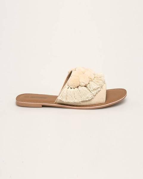 Biele sandále Answear
