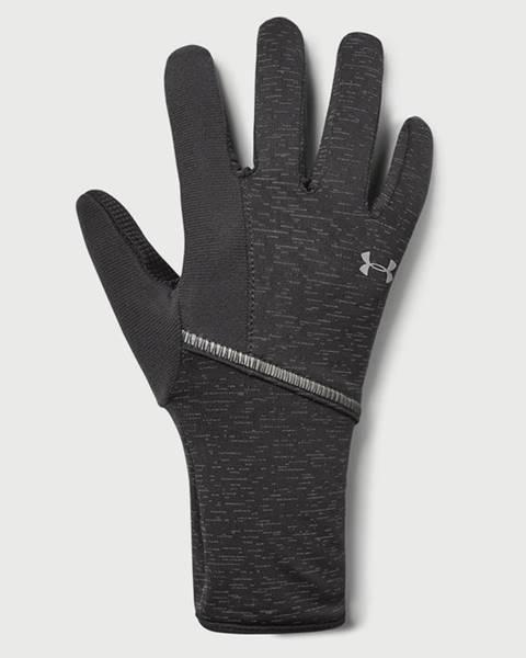 Sivé rukavice Under Armour