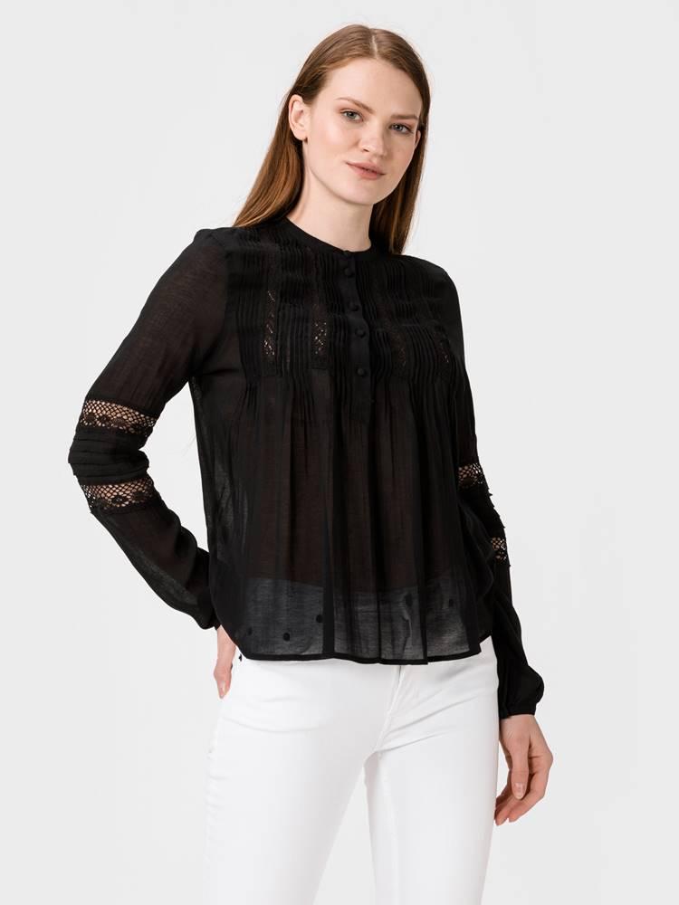 Vero Moda Kirsten Halenka Vero Moda Čierna