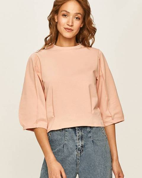 Ružová mikina Answear