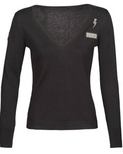 Čierny sveter Ikks