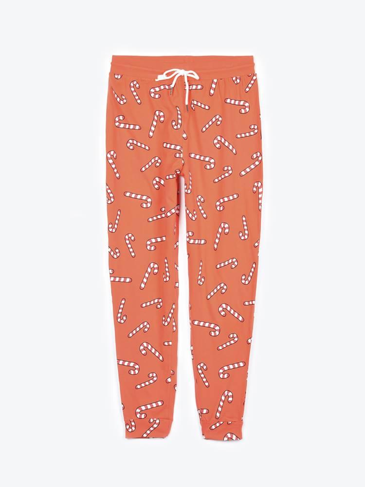 GATE Pyžamové nohavice s potlačou