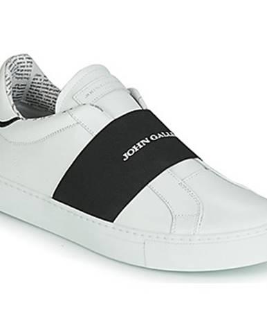 Biele espadrilky John Galliano