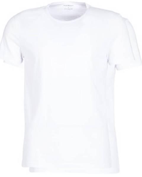 Biele tričko Emporio Armani