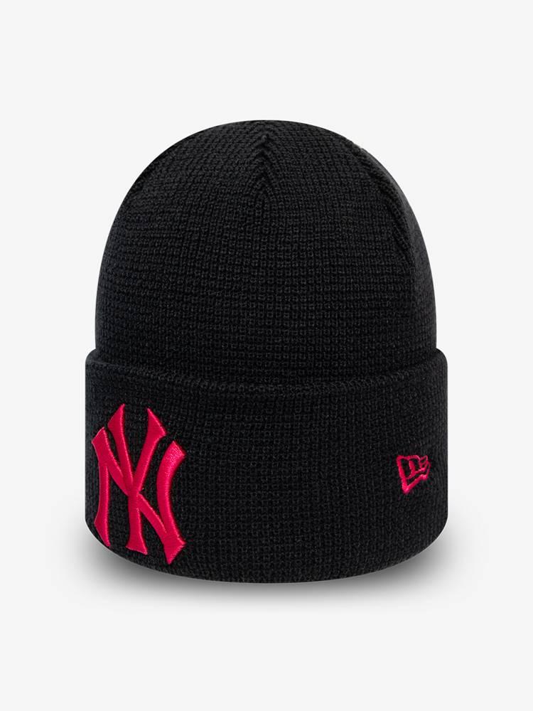 New Era Čapica New Era MLB Wmns league essential cuff knit NEYYANCO Čierna