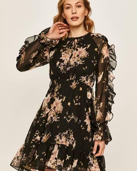 Čierne šaty Answear
