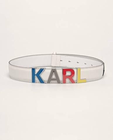 Biely opasok Karl Lagerfeld
