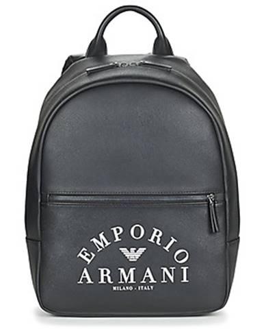 Čierny batoh Emporio Armani