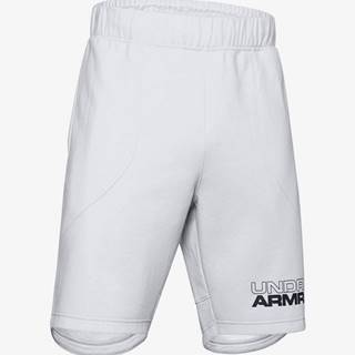 Kraťasy Under Armour Baseline Fleece Short Šedá