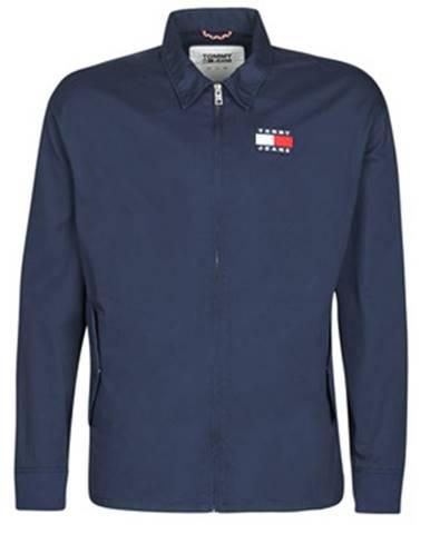 Modrá bunda Tommy Jeans