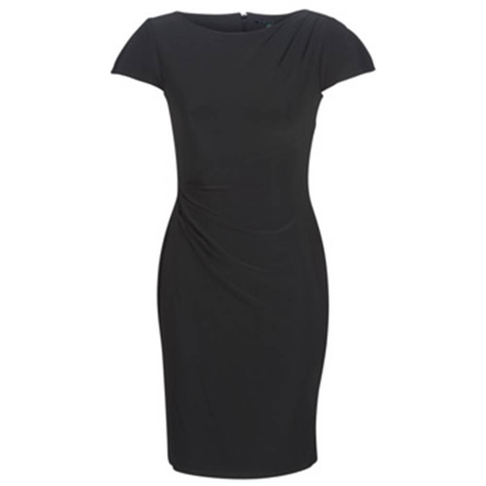 Lauren Ralph Lauren Krátke šaty Lauren Ralph Lauren  SHORT SLEEVE JERSEY DAY DRESS