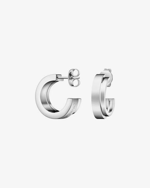 Strieborné náušnice Calvin Klein