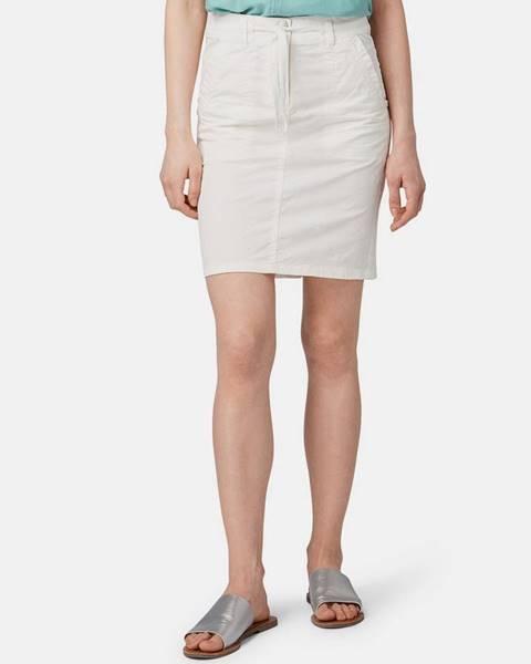 Krémová sukňa Tom Tailor