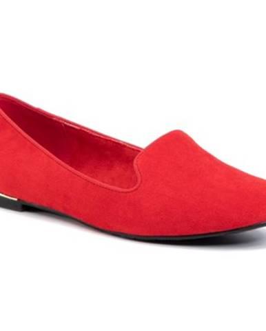 Červené poltopánky Jenny Fairy