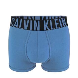 CALVIN KLEIN - Intense power cotton blue boxerky-L (91-96 cm)