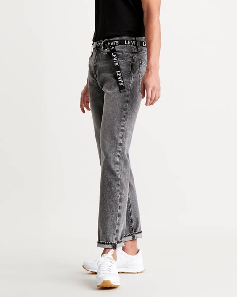Levi's Levi's® 502™ Taper Jeans Čierna Šedá
