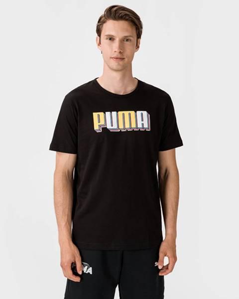 Čierne tričko Puma