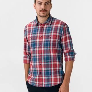 Pepe Jeans Stanley Košeľa Modrá Červená