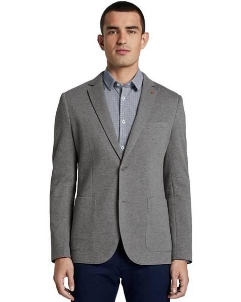 Sivé sako Tom Tailor