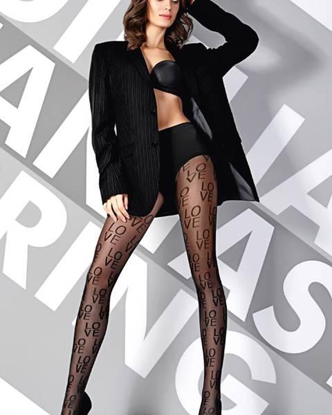 Čierne nohavice Giulia