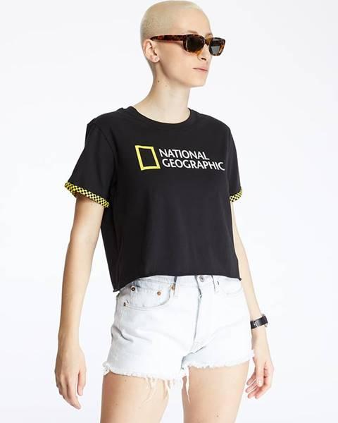 Čierne tričko Vans