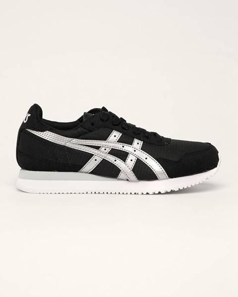 Čierne topánky Asics Tiger