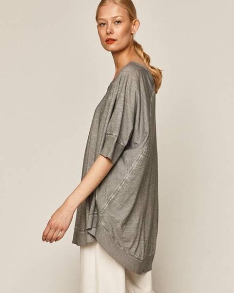 Sivé tričko MEDICINE