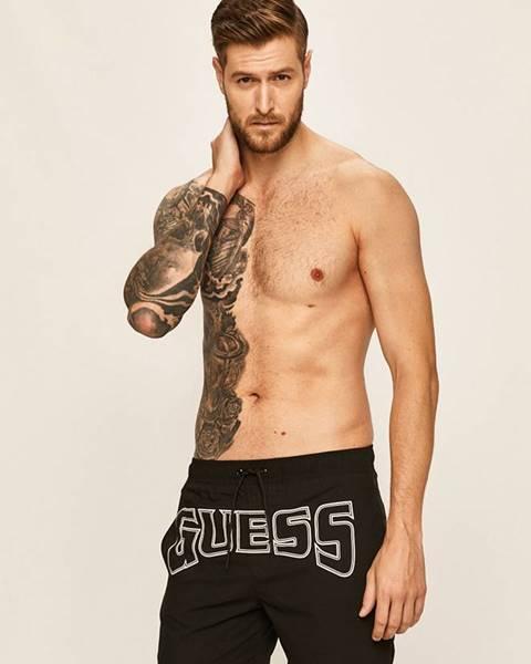 Čierne plavky Guess Jeans