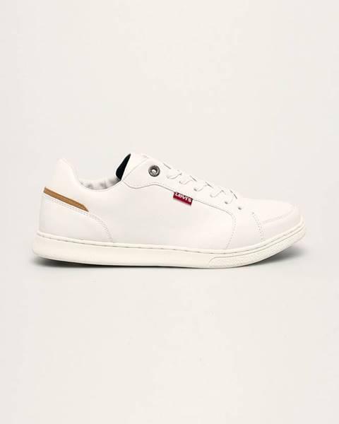 Biele topánky Levi's