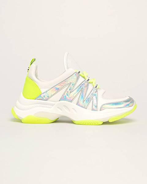 Biele topánky Steve Madden