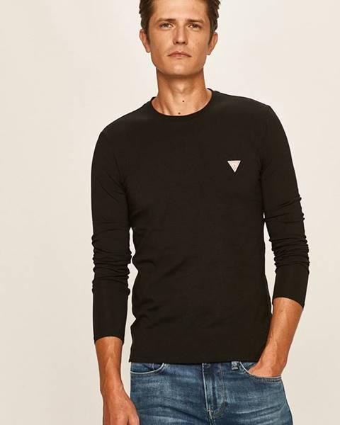Čierne tričko Guess Jeans