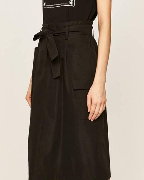 Čierna sukňa Answear