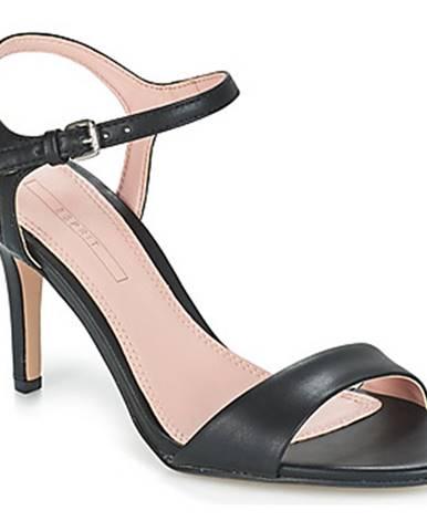 Čierne sandále Esprit