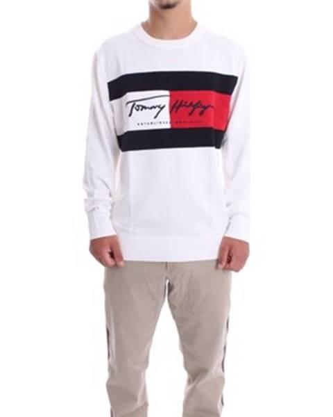 Biely sveter Tommy Hilfiger