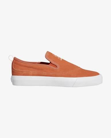Oranžové espadrilky adidas Originals
