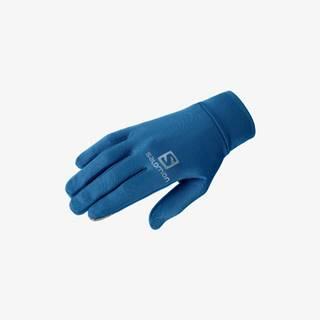 Salomon Agile Warm Rukavice Modrá