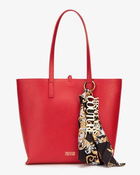 Červená kabelka Versace Jeans Couture