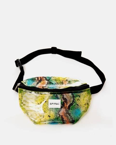 Zelená kabelka Spiral