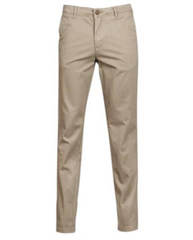 Béžové nohavice Jack   Jones