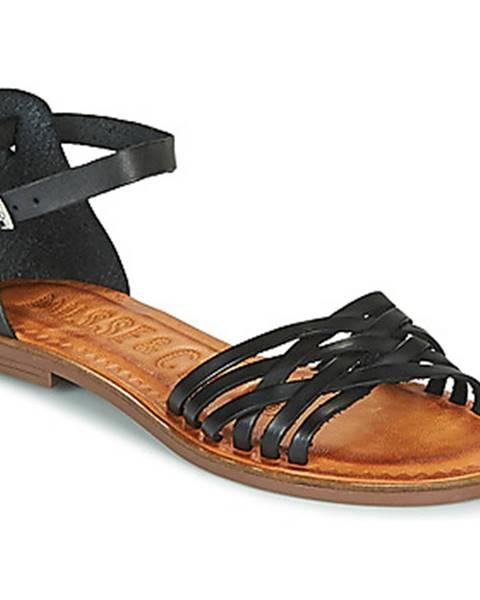 Čierne sandále Musse   Cloud