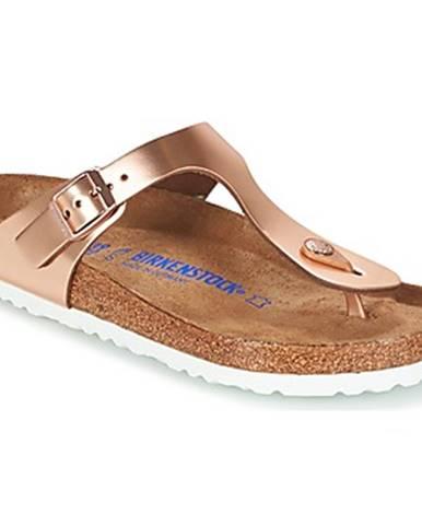 Zlaté sandále Birkenstock