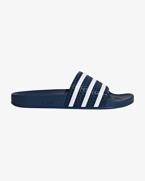 Modré sandále adidas Originals