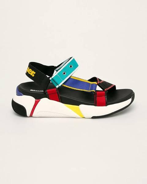 Viacfarebné sandále Blauer