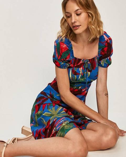 Modré šaty Answear