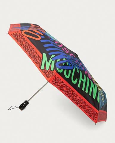 Čierny dáždnik Moschino