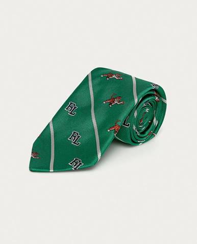 Zelená kravata Polo Ralph Lauren