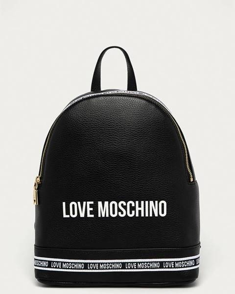 Čierny batoh Love Moschino