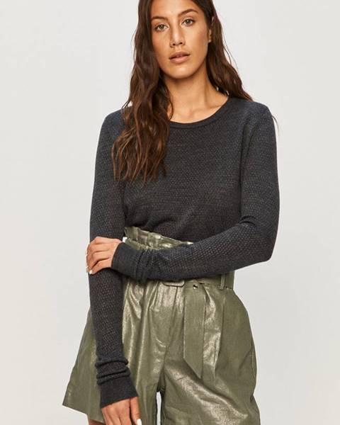 Sivý sveter Jacqueline de Yong