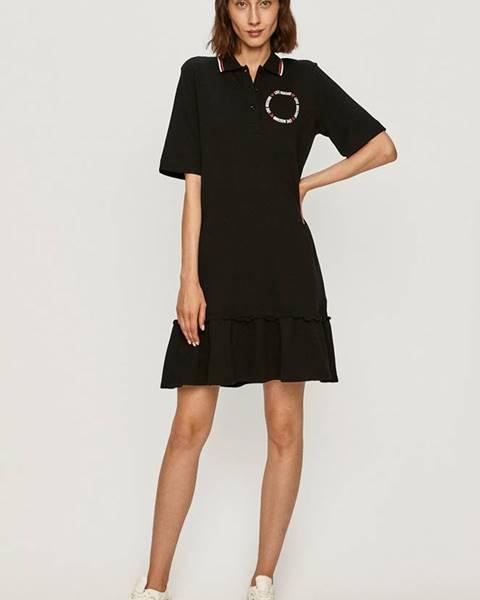 Čierne šaty Love Moschino
