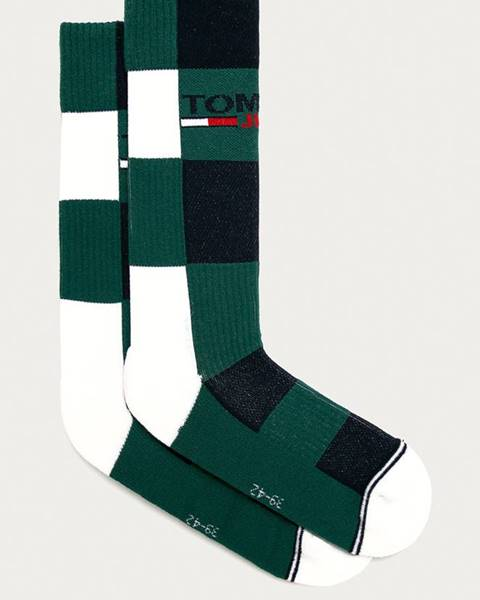 Zelené ponožky Tommy Hilfiger